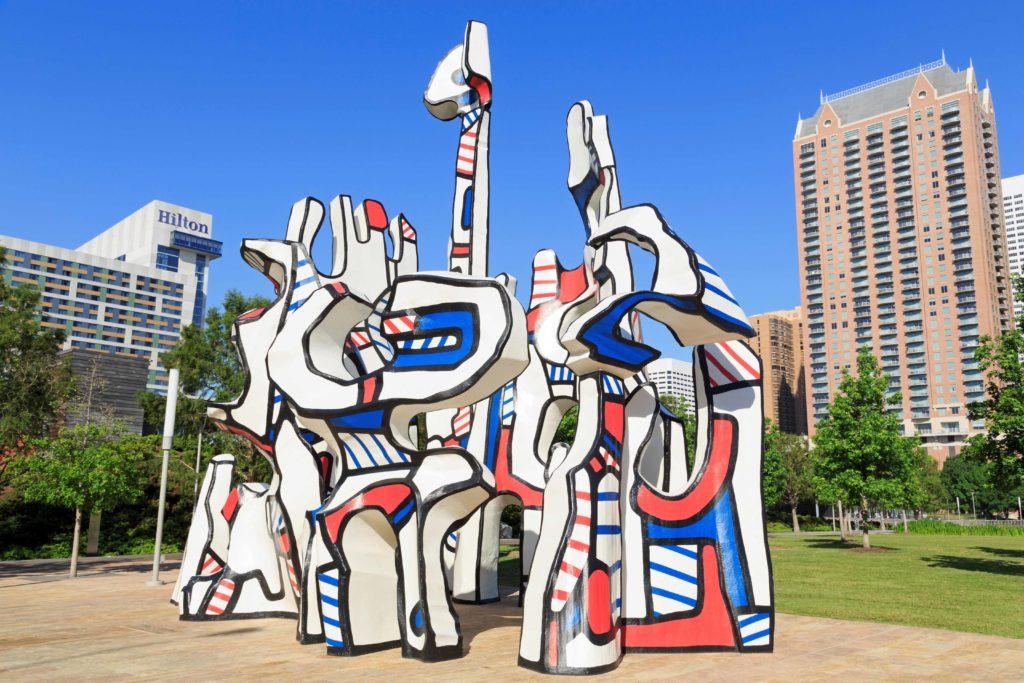 Texas public art