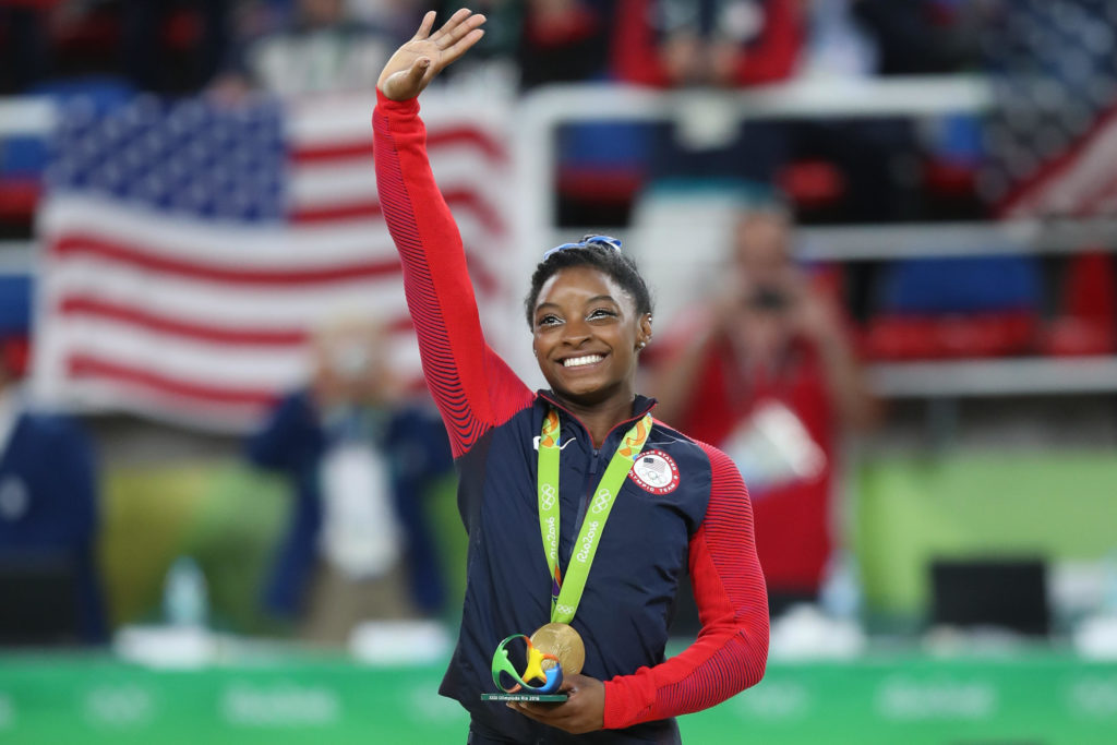 Simone Biles an olympian from Texas